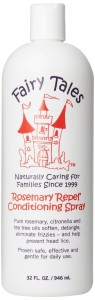 Fairy Tales All Natural Organic Hair Care for Children Rosemary Repel Leave In Conditioning Spray